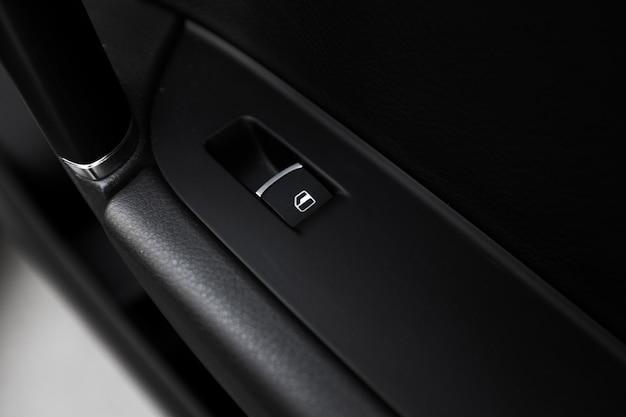 Detalhes do interior do carro moderno
