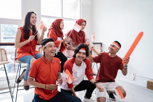 Dia da independência do torcedor indonésio