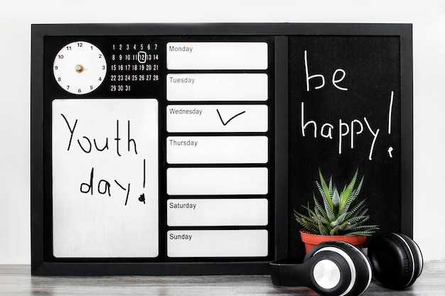 Dia da juventude no escritório