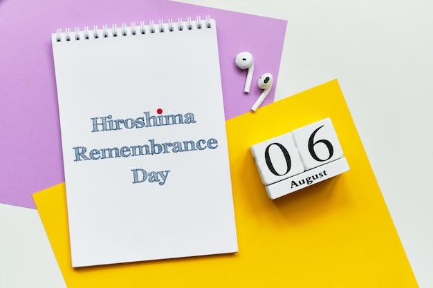 Dia da memória de hiroshima