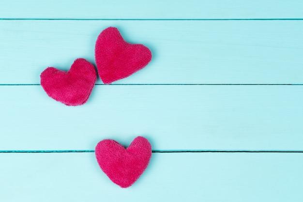 Dia das mães, corações rosa