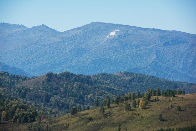 Dia de beleza nas montanhas
