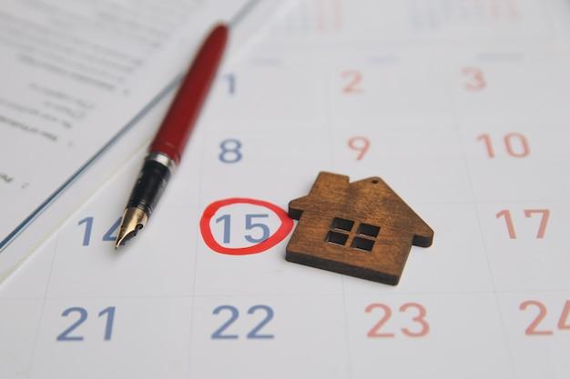 Dia de compra ou venda de uma casa.