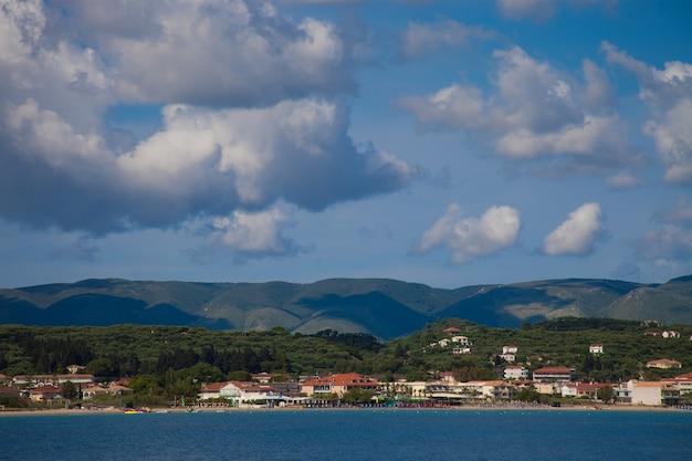 Dia de verão, grécia, ilha de zakynthos