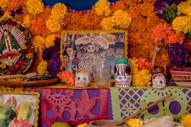 Dia do altar da tradição morta do méxico.