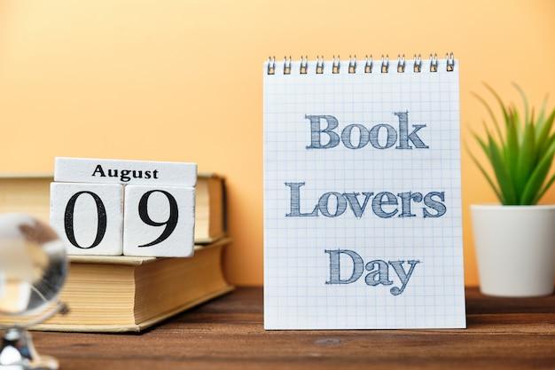 Dia dos amantes do livro