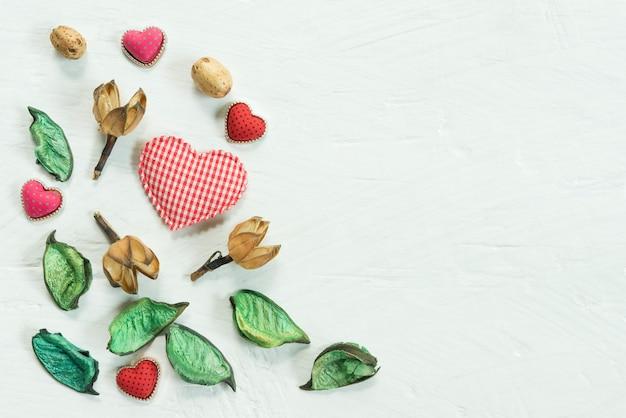 Dia dos namorados, amor e conceito de plano de fundo do casamento.
