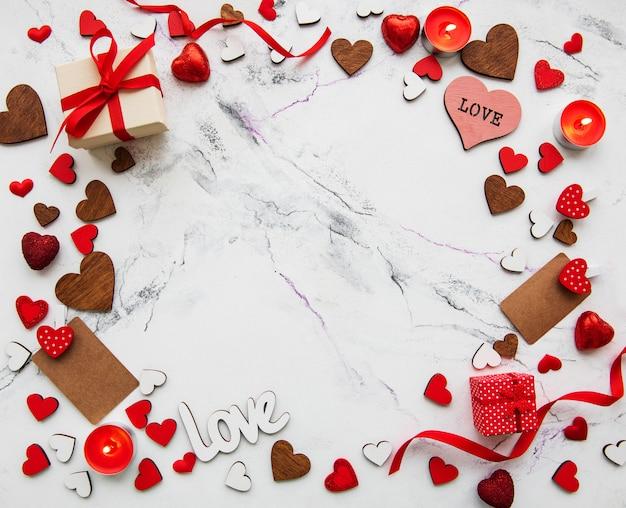 Dia dos namorados romântico