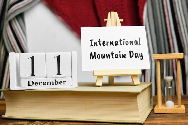 Dia internacional da montanha de dezembro