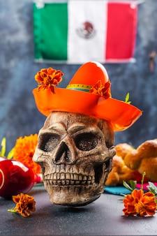 Dia mexicano da decoração morta