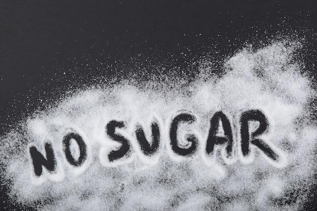 Diabetes mellitus conceito minimalismo vista de cima lugar para texto