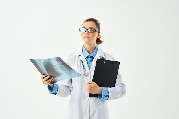 Diagnóstico de enfermagem de enfermagem exame de fundo isolado