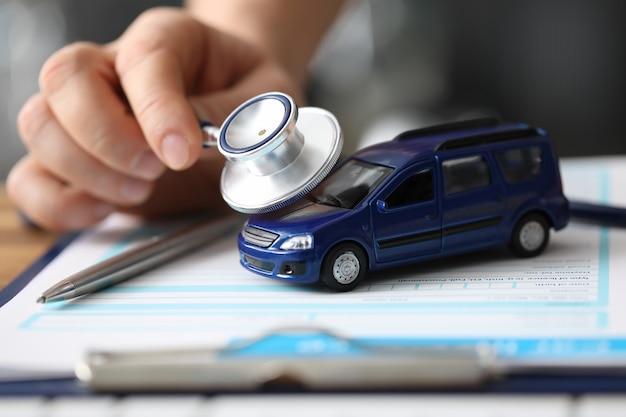 Diagnóstico e seguro de máquinas