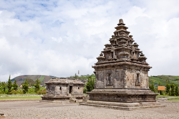 Dieng templo arjuna complexo indonésia