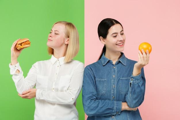 Dieta. conceito de dieta. comida saudável e útil.