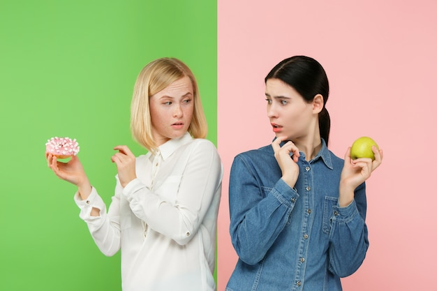 Dieta. conceito de dieta. comida saudável.
