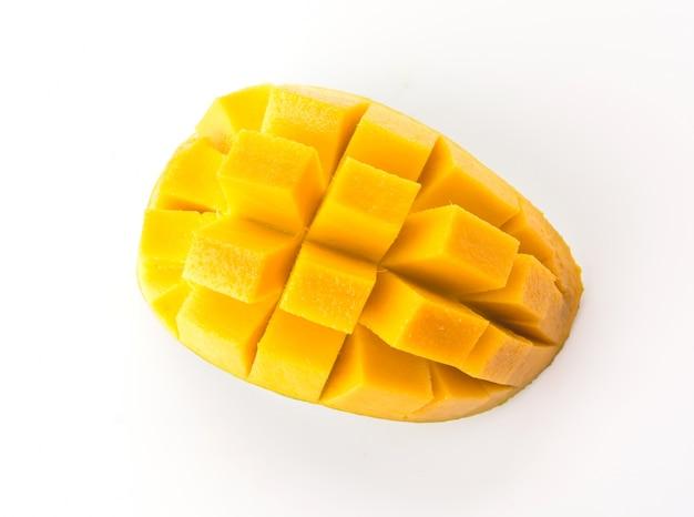 Dieta, fresco, nutrição, mangos, verão