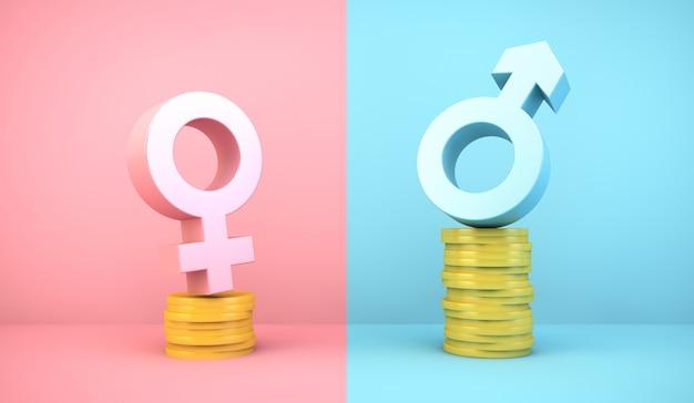 Diferença de ganhos de gênero