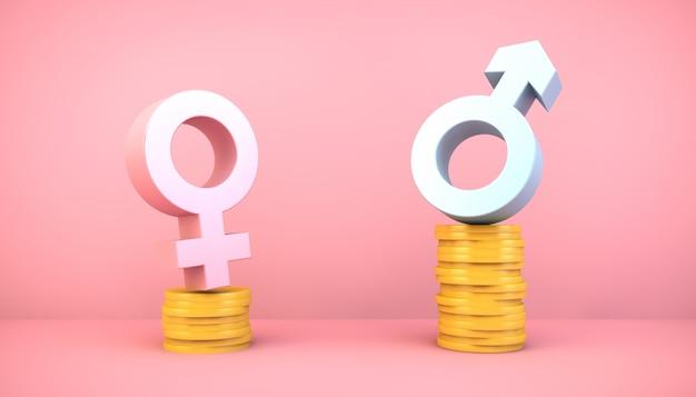 Diferença de gênero nos ganhos
