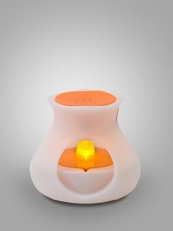 Difusor moderno de aromaterapia com luz