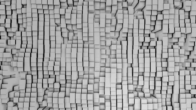 Digital dos quadrados brancos