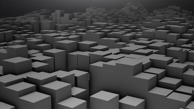 Digital dos quadrados cinzentos