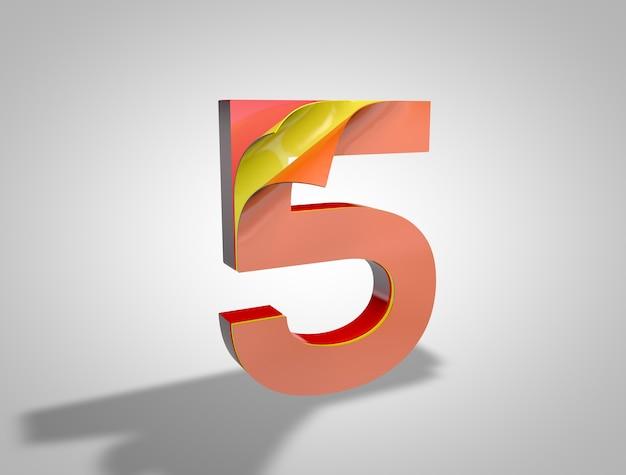 Dígito 5