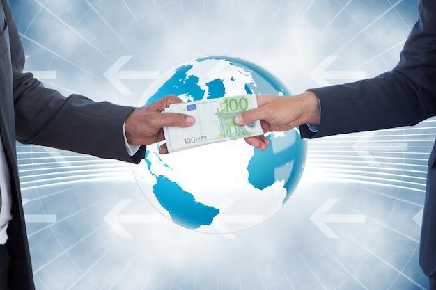 Dinheiro ao redor do mundo