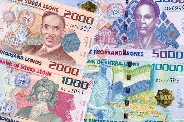 Dinheiro da serra leoa