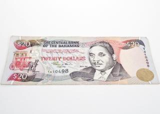 Dinheiro das bahamas
