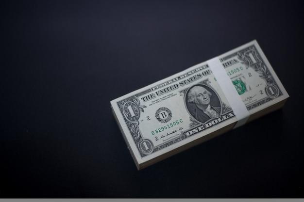 Dinheiro de dólares americanos