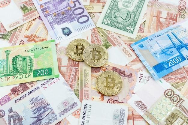 Dinheiro e bitcoin