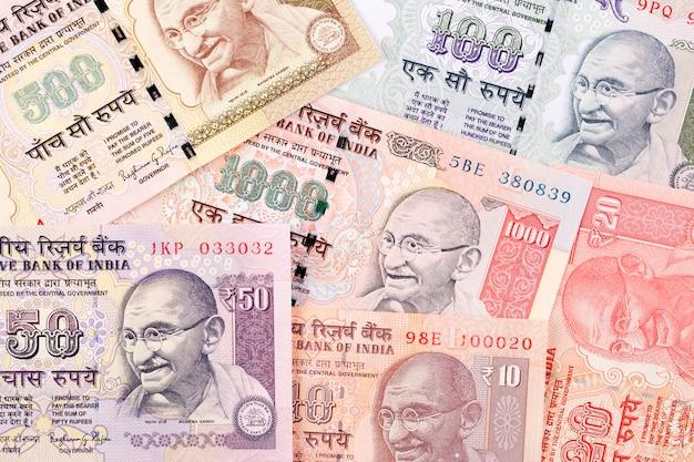 Dinheiro indiano, um fundo de negócios