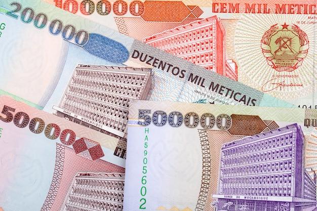Dinheiro moçambicano antigo