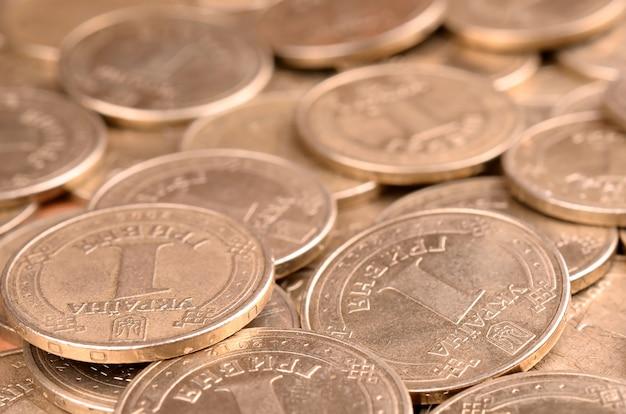 Dinheiro ucraniano de sucesso financeiro para conceitos de vida ricos