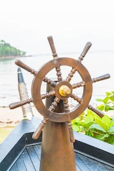Dirigindo o barco