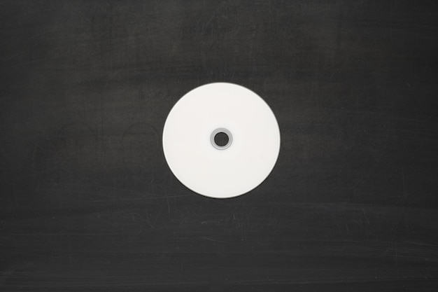 Disco branco em branco