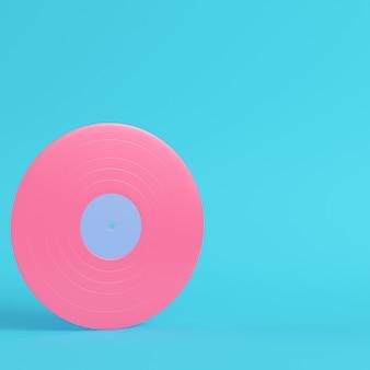 Disco de vinil de renderização 3d
