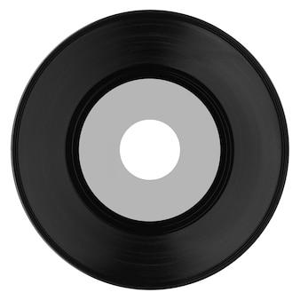 Disco de vinil isolado