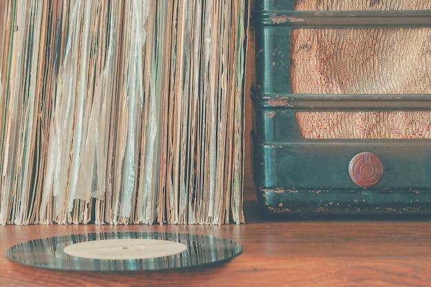 Discos de vinil antigos