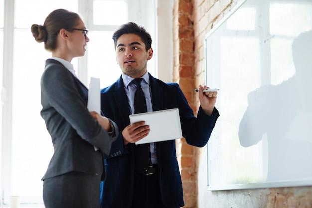 Discussão por whiteboard