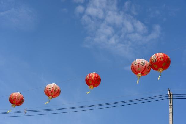 Disparado do ano novo chinês da decoração do arranjo & do feriado lunar do ano novo.