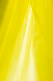 Disposição da vista superior de sacos plásticos amarelos