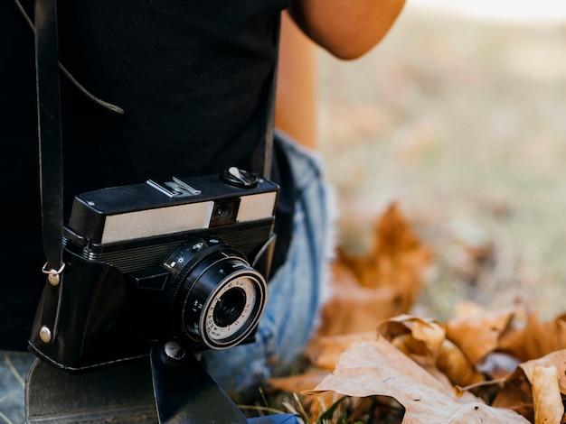 Dispositivo de câmera eletrônica de alto ângulo