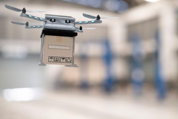 Dispositivo de engenharia de tecnologia drone