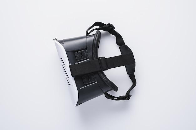 Dispositivos modernos minimalistas, óculos de realidade virtual para telefone inteligente