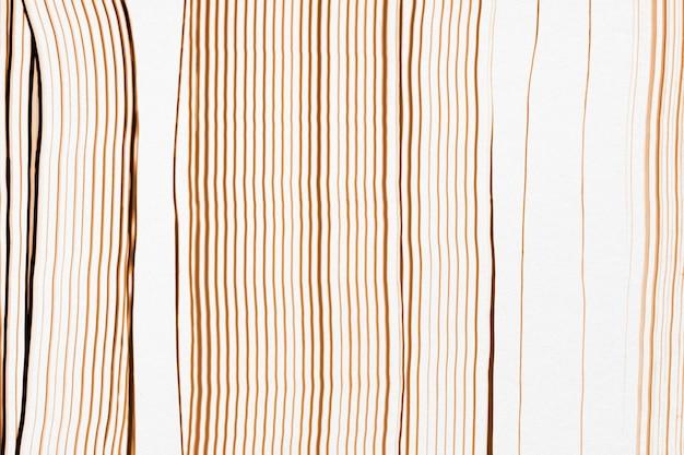 Diy abstrato com textura de fundo em padrão de linha marrom arte experimental