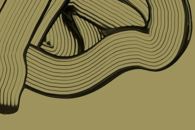 Diy fundo texturizado abstrato em arte experimental de padrão ondulado verde