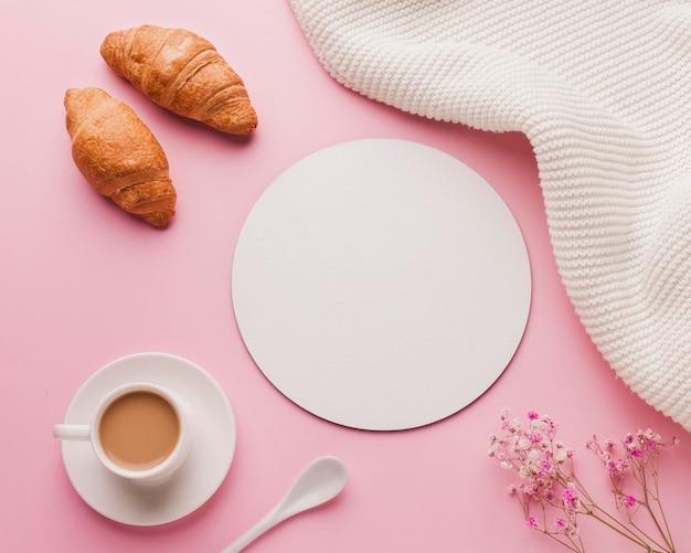 Doce surpresa no café da manhã