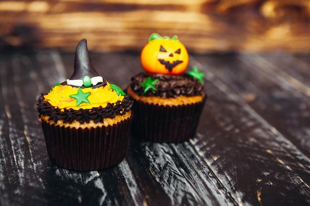 Doces deliciosos para o halloween para crianças